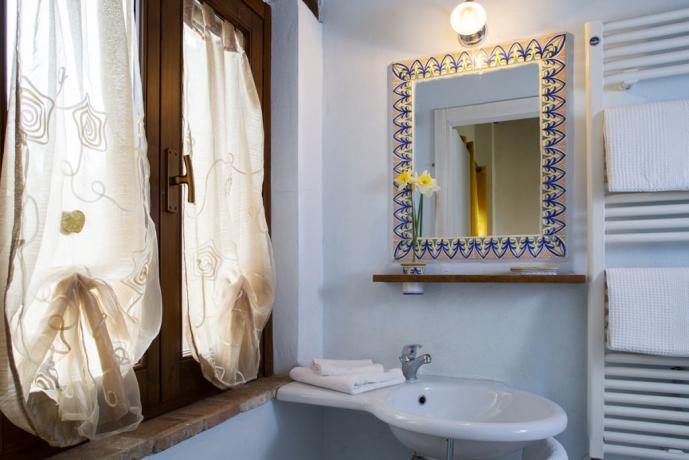 Bagno privato B&B vicino Assisi