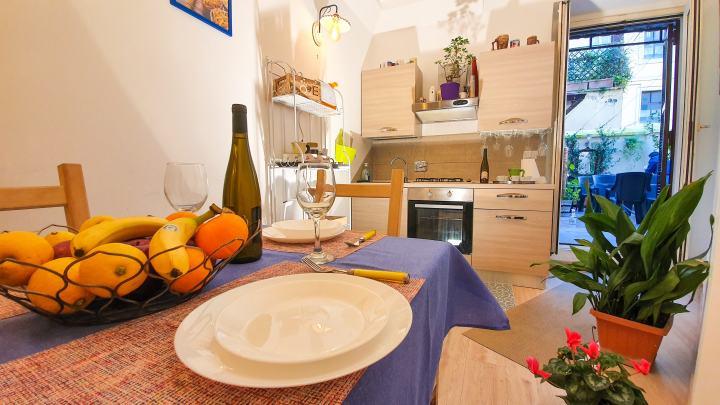 Appartamento vacanze con cucina a 1km dal Colosseo-Roma