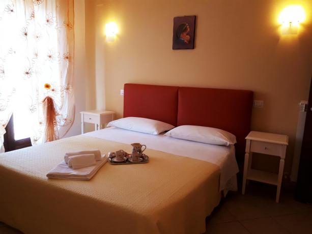 Appartamento in Umbria con camera matrimoniale