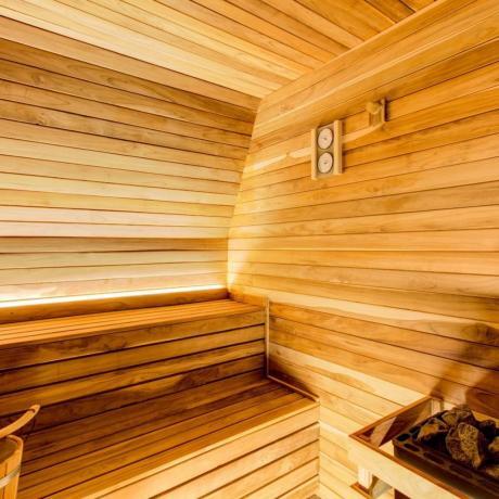 Sauna in hotel 4 stelle a Verucchio-Rimini