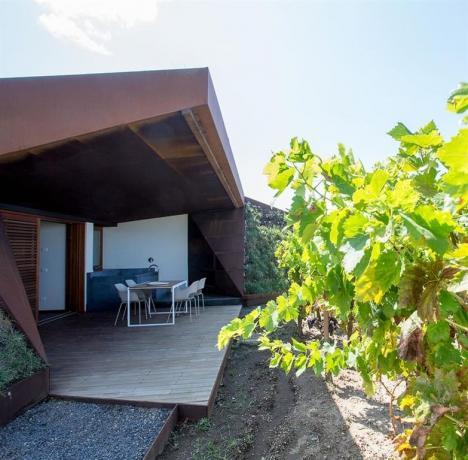 Casa vacanza Lipari con giardino vasca idromassaggio Sicilia