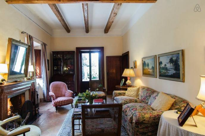 Villa lusso con camino affitto vacanza