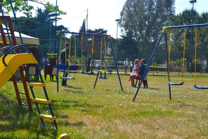 Resort con parco giochi bambini Baia Domizia