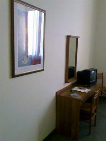 Camera con TV nel Palazzo del Vaticano