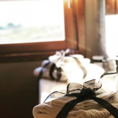 Set cortesia in hotel4stelle con suite nell'albero Umbria