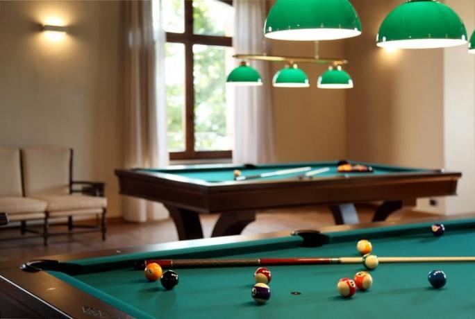 Vacanze in Umbria hotel 5stelle con sala biliardo