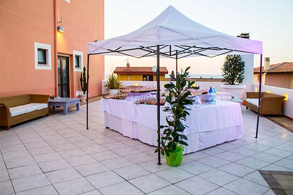 Hotel con Terrazzo Solarium vista mare Castelsardo