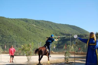Manifestazioni con cavalli in Umbria