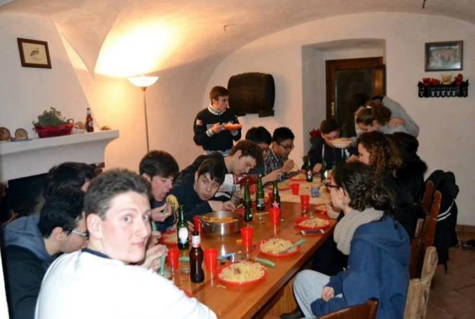 Appartamenti con salone per gruppi nel Lazio