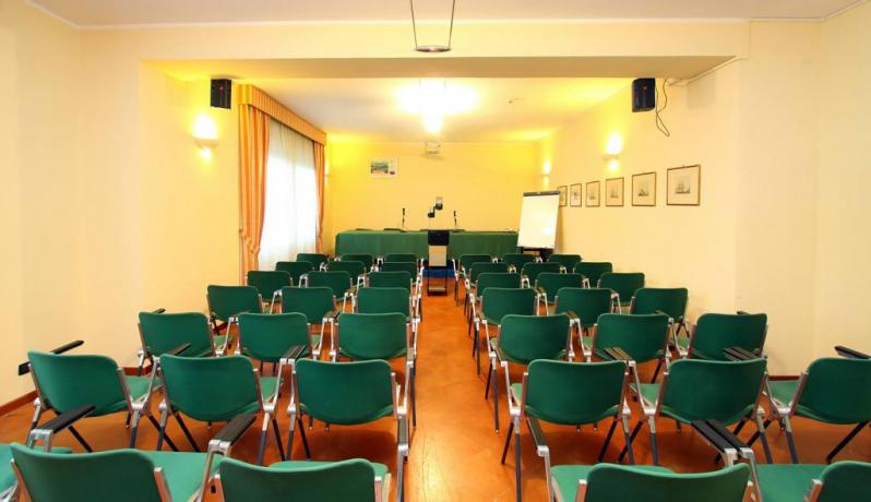 Meeting and congress hall in Hotel in Piediluco
