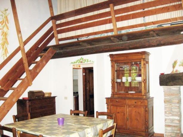 Appartamento Ginepro con sala da pranzo Lago-Trasimeno