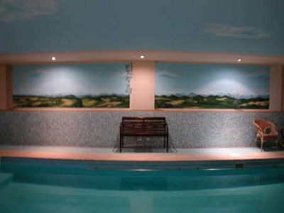 Suite con letto a baldacchino beauty farm trasimeno piscina coperta castiglione del lago - Agriturismo piscina interna riscaldata ...
