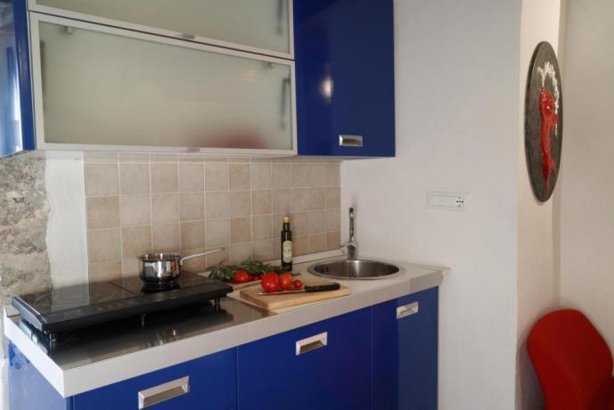 Appartamento-Giolli con-cucina 1-persona Borgo-sul-Clitunno Umbria