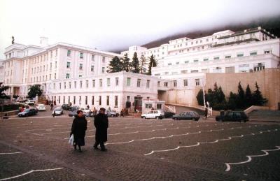 The hospital  -Casa sollievo della sofferenza- The house of relief