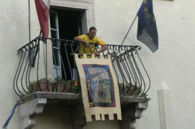 palio dei terzieri a Trevi, Umbria