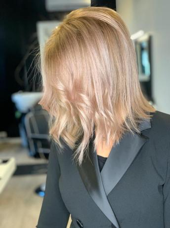Esempio Colore Capelli Donna Prodotti linea cutie-hair