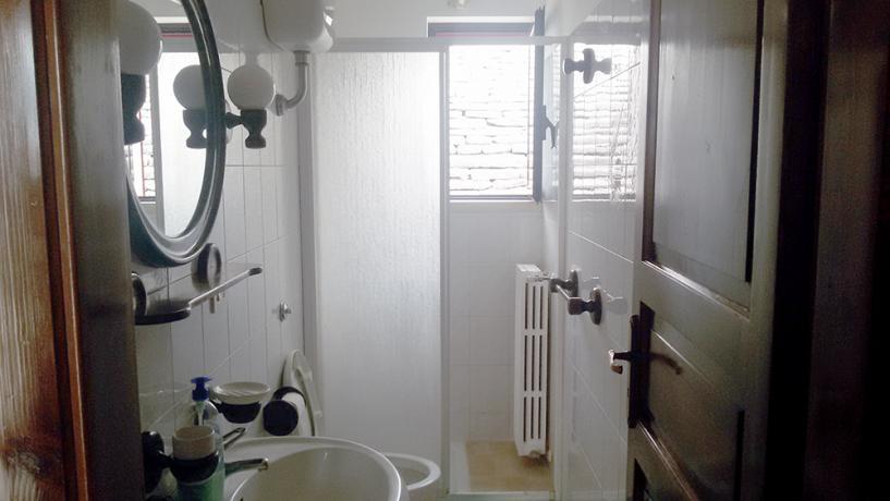 Bagno appartamento Granaio Laire, Alberobello