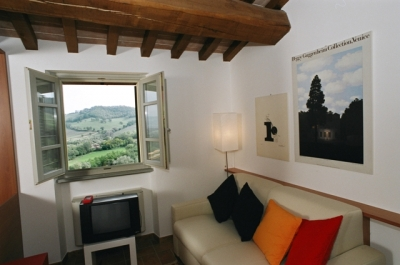 Country House a Gubbio. Interno Appartamenti