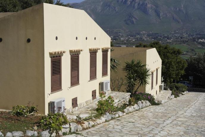 Resort vicino alla Riserva Naturale dello Zingaro