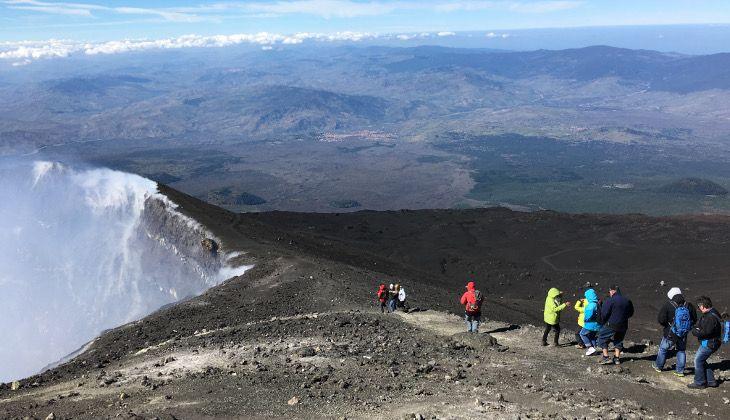 Escursioni sul Vulcano Etna