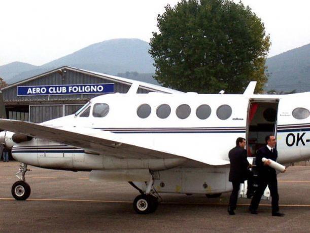 Aeroporto Foligno, volo a vela e a Motore