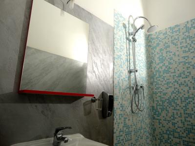 Bagno con doccia Camera Venezia
