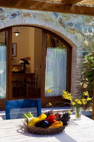 appartamenti vacanza in Toscana con piscina