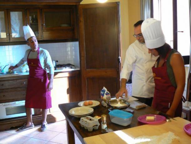 Corso di cucina: Agriturismo Relax Bettona
