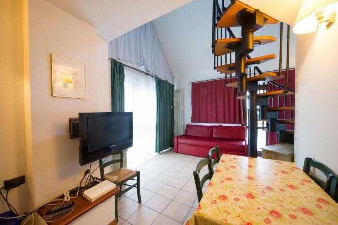Appartamento-vacanze trilocale 6-7posti-letto Bardonecchia