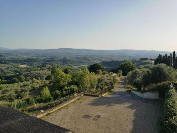 Panorama Valle del Chianti, La Magia
