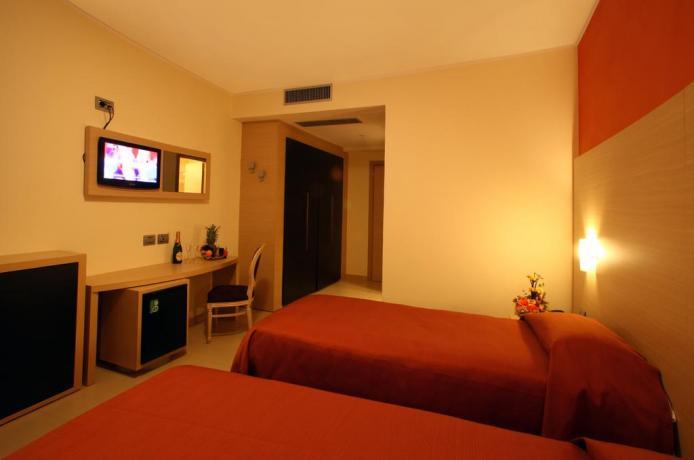 Camera con letti singoli hotel vicino Cosenza
