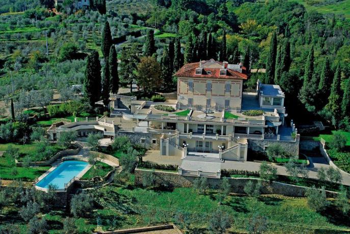 Villa con spa centro benessere in Toscana
