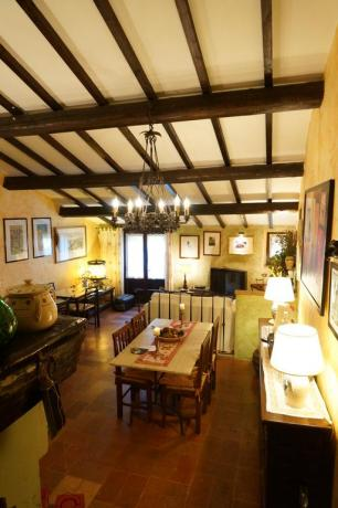 Sala comune Bed and Breakfast a Massa Martana