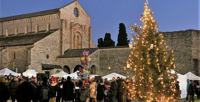 Mercatini-di-Natale ad Aquileia-Friuli Venezia Giulia in Viaggio-Organizzato