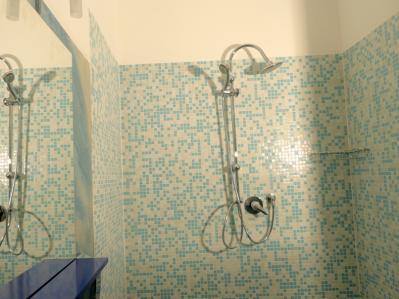 Bagno con doccia Camera New York