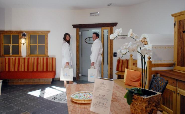 Bagno Turco al centro benessere vicino a Trento