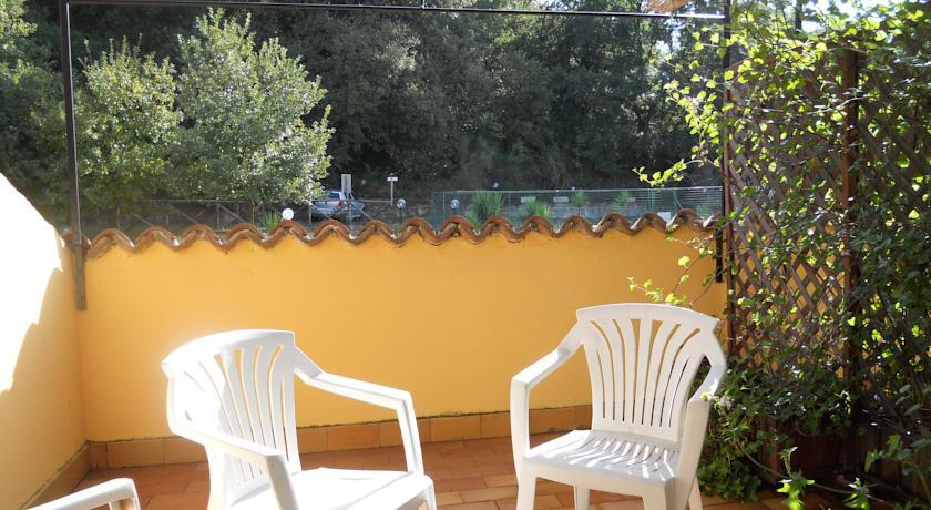 Albergo con terrazza panoramico