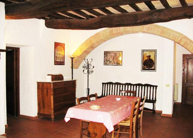 Appartamento Cipresso 4posti letto casale Castiglione-del-Lago