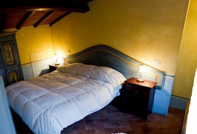 Romantica camera matrimoniale Appartamento Vacanze Narni
