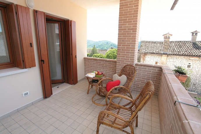 Casa vacanze Friuli con terrazzino