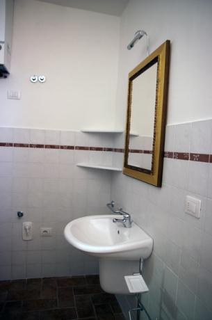 Bagni privati con doccia