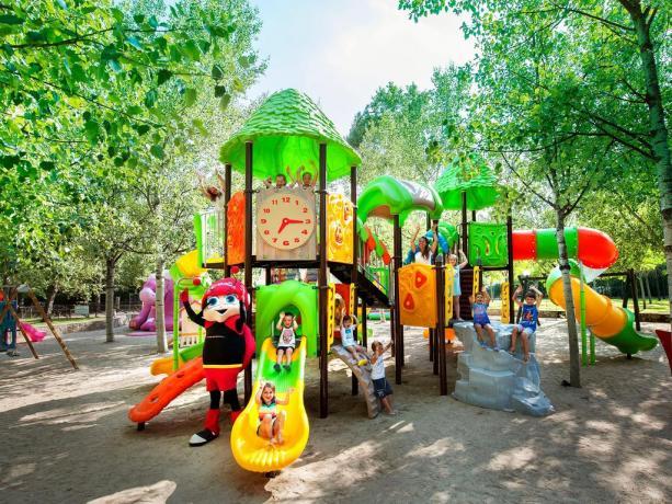 Parcogiochi gigante per bambini The SEA