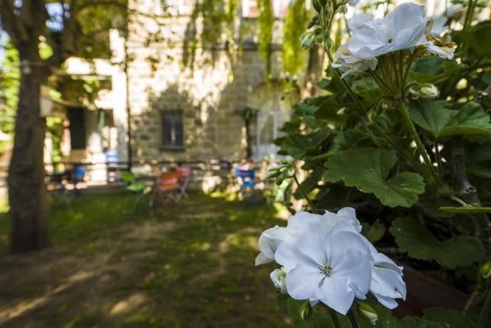 Agriturismo a Perugia con ampio giardino