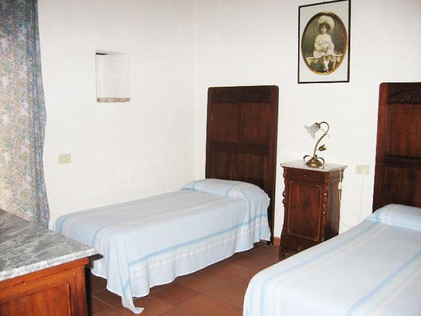 Appartamento Cipresso con letti singoli Castiglione-del-Lago