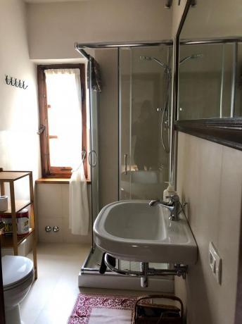 Bagno con doccia, Villa vacanza