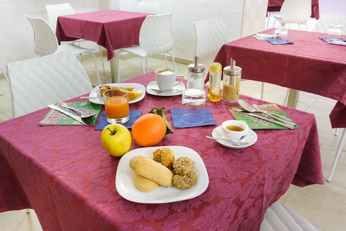 Colazione genuina in Hotel in Abruzzo