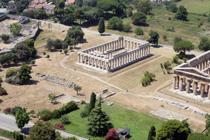 Escursioni a Paestum vicino Palinuro