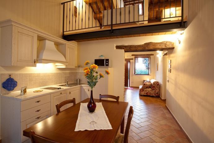 Appartamento girasole, cucina, zona giorno