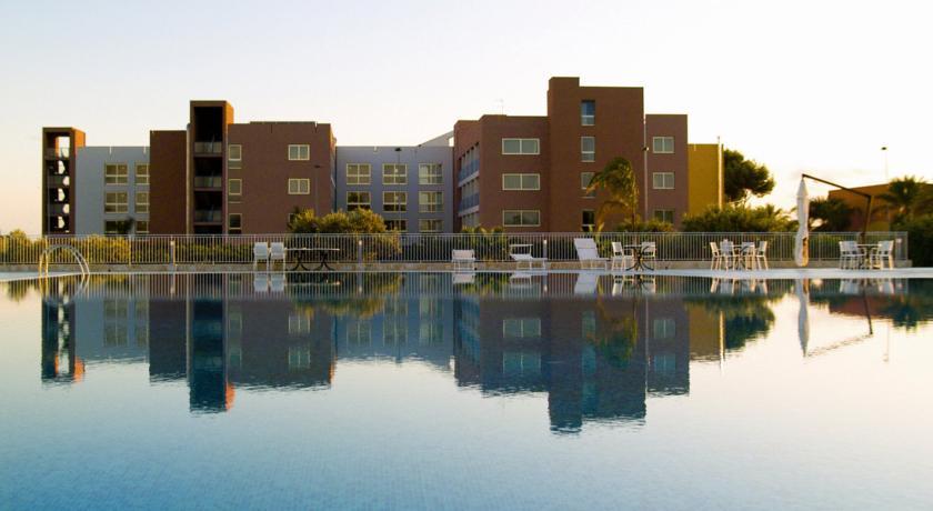 Esterno dell'Hotel a Trapani con SPA