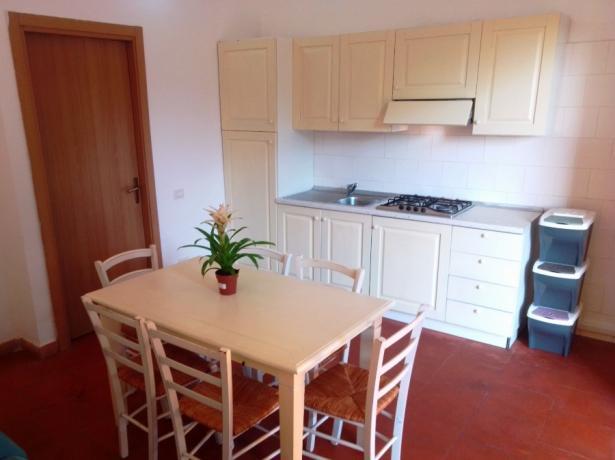 Appartamenti vacanze bungalow con cucina Norbello-Oristano